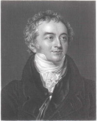 Figure 1 : Thomas Young, 1773-1829 (d'après un portrait peint par Sir Thomas Lawrence, 1769-1830)